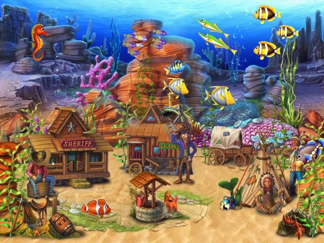 Pantallazo Fun Aquarium 3D Screensaver