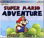 Pantallazo Super Mario Adventure