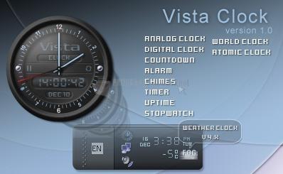 Pantallazo Vista Clock