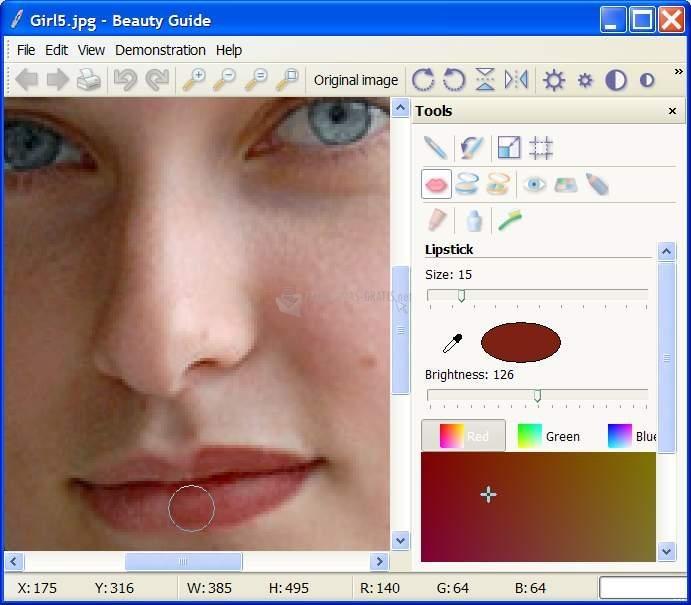 Pantallazo Beauty Guide Lite