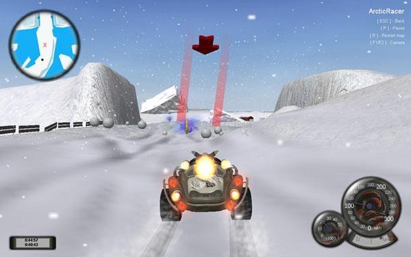 Pantallazo Arctic Racer