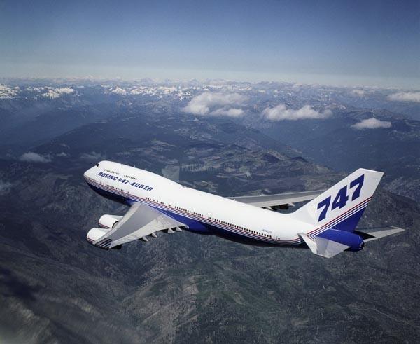 Pantallazo Boeing Screensaver BCA 747