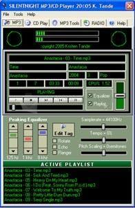 Pantallazo SilentNight MP3 CD Player