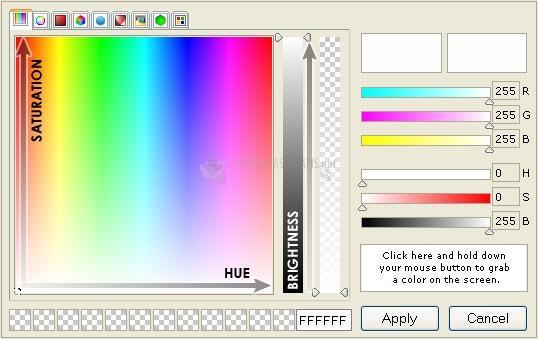 Pantallazo Absolute Color Picker ActiveX