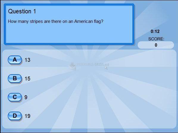 Pantallazo General Knowledge Quiz