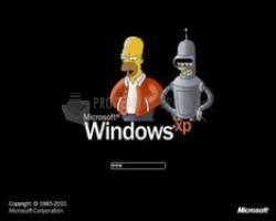 Pantallazo Boring XP Bootscreen