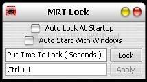 Pantallazo MRT Lock