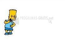 Pantallazo Bart riéndose