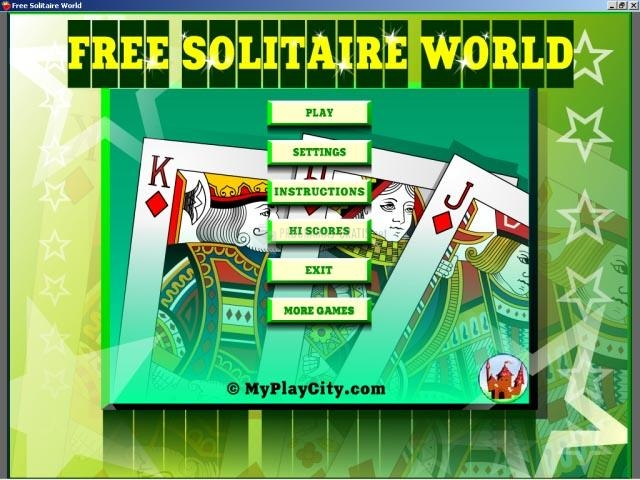 Pantallazo Free Solitaire World