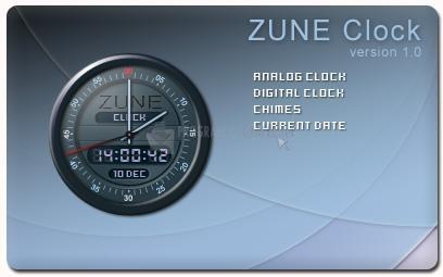 Pantallazo Zune Clock
