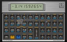 Pantallazo HP-11c Scientific Calculator