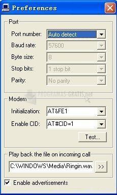 Pantallazo Call Display Screensaver