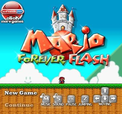 Pantallazo Mario Forever Flash
