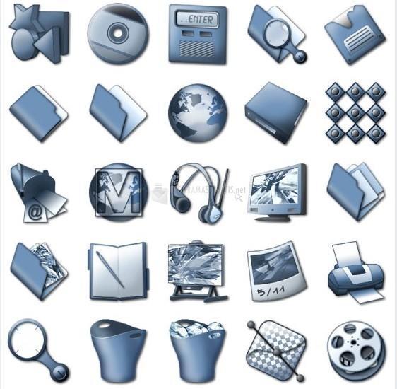 Pantallazo Iconica Slate Icons Set