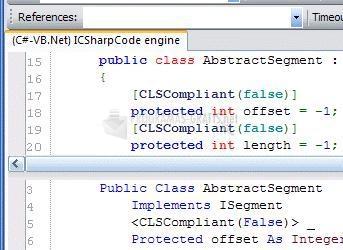 Pantallazo Convert .NET