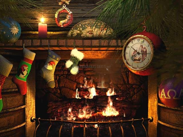 Salvapantallas de Navidad 3D