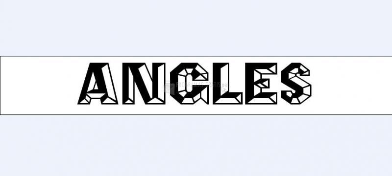 Pantallazo Angles Font
