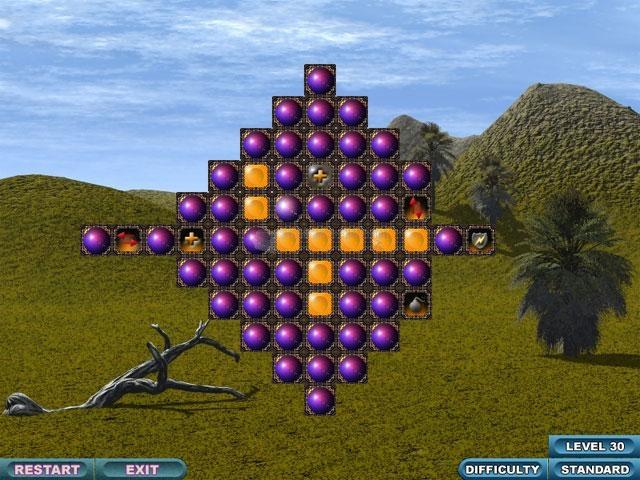 Pantallazo Solid Spheres DX