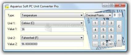 Pantallazo PC Unit Converter Professional