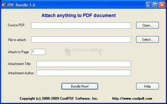 Pantallazo PDF Bundle