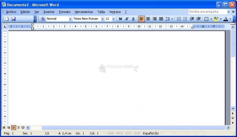 Pantallazo Paquete de Compatibilidad de MS Office