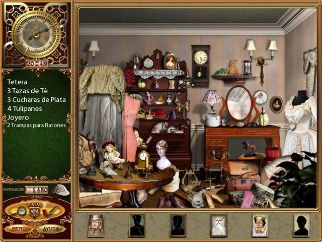 Pantallazo Los Casos Perdidos de Sherlock Holmes