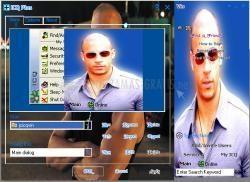 Pantallazo Vin Diesel ICQ Skin