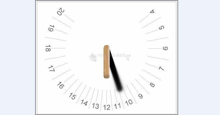 Pantallazo Sundial