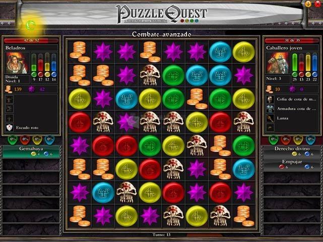 Pantallazo Puzzle Quest