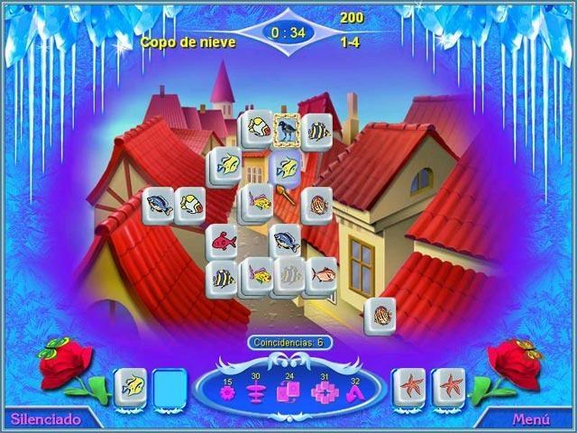 Pantallazo Snow Queen Mahjong