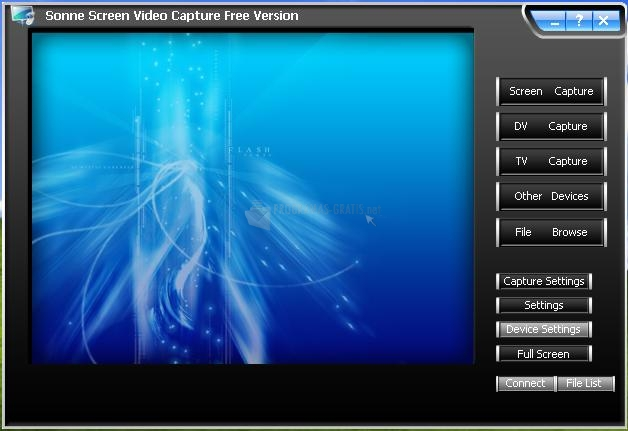 Pantallazo Sonne Screen Video Capture