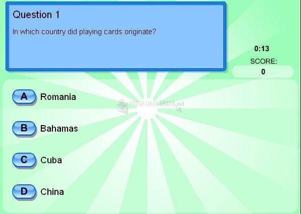 Pantallazo History Quiz
