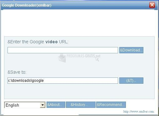 Pantallazo Kylin Google Video Downloader