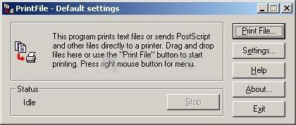 Pantallazo PrintFile