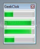 Pantallazo GeekClok Beta