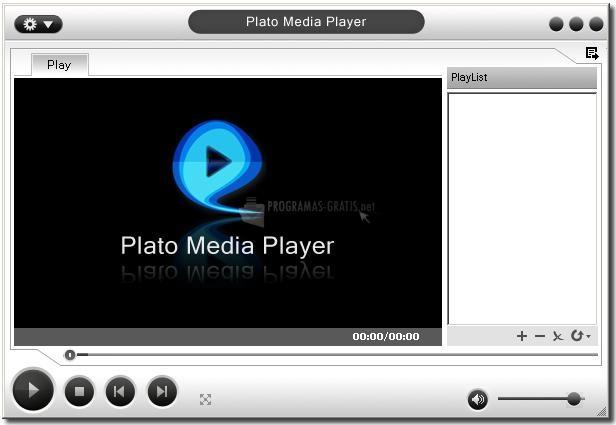 Pantallazo Plato Media Player