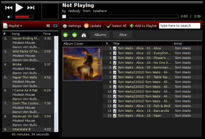 Pantallazo Music Player Minion
