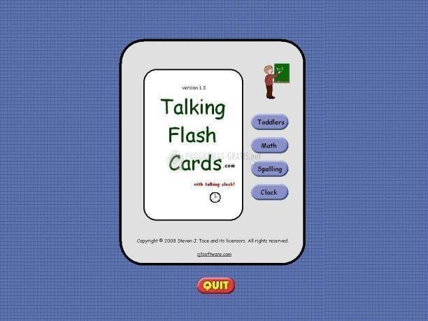 Pantallazo Talking Flash Cards