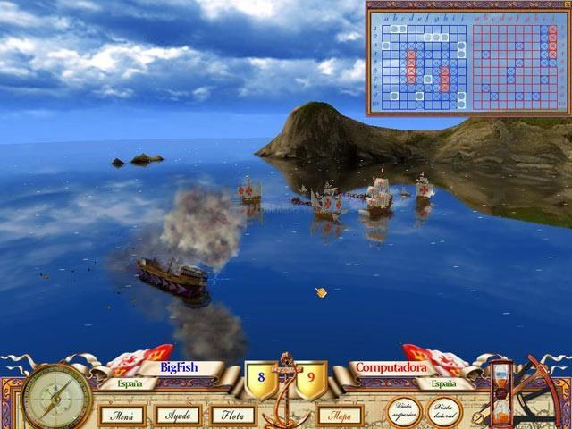 Pantallazo The Game of Battleship