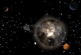 Pantallazo Dark Solar System