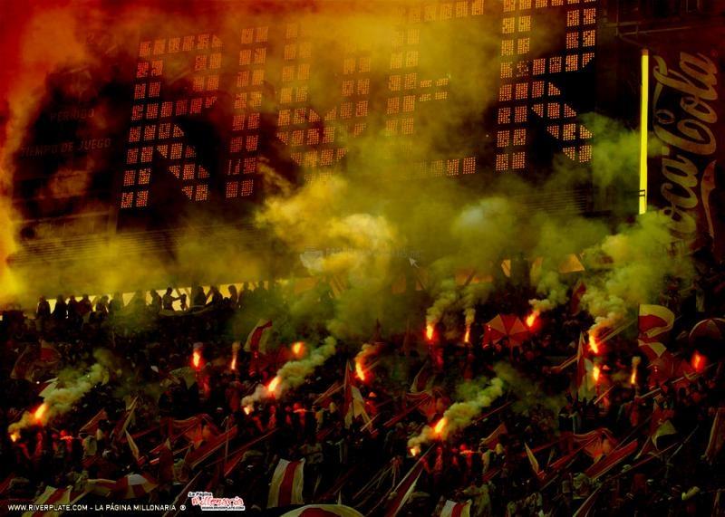 Pantallazo River Plate: momento sagrado
