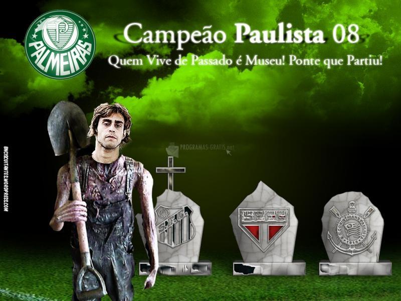 Pantallazo Palmeiras: Campeones Paulistas 08