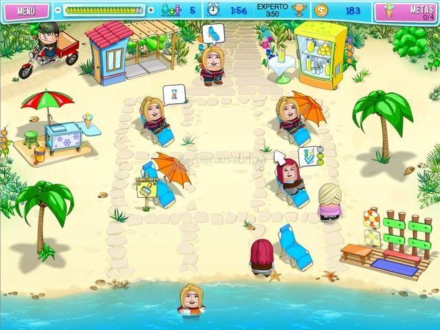 Pantallazo Huru Beach Party