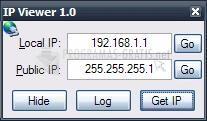 Pantallazo IP Viewer Tool