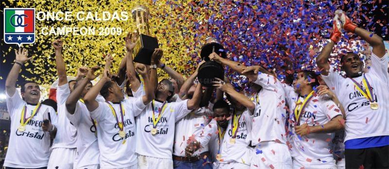 Pantallazo Once Caldas Campeón 2009