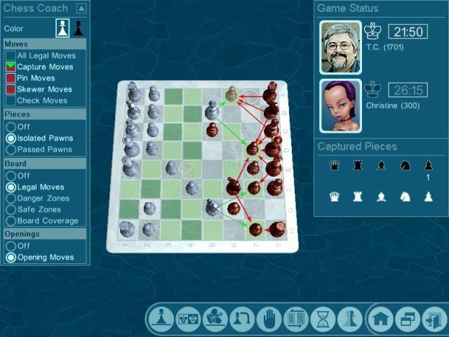 Pantallazo Chessmaster Challenge