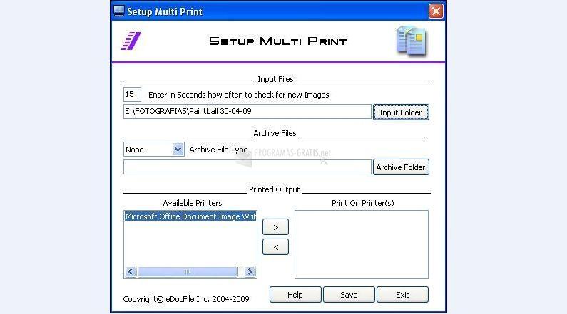 Pantallazo Multi Print