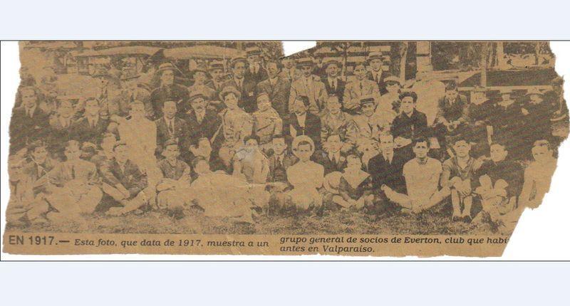 Foto Everton 1917