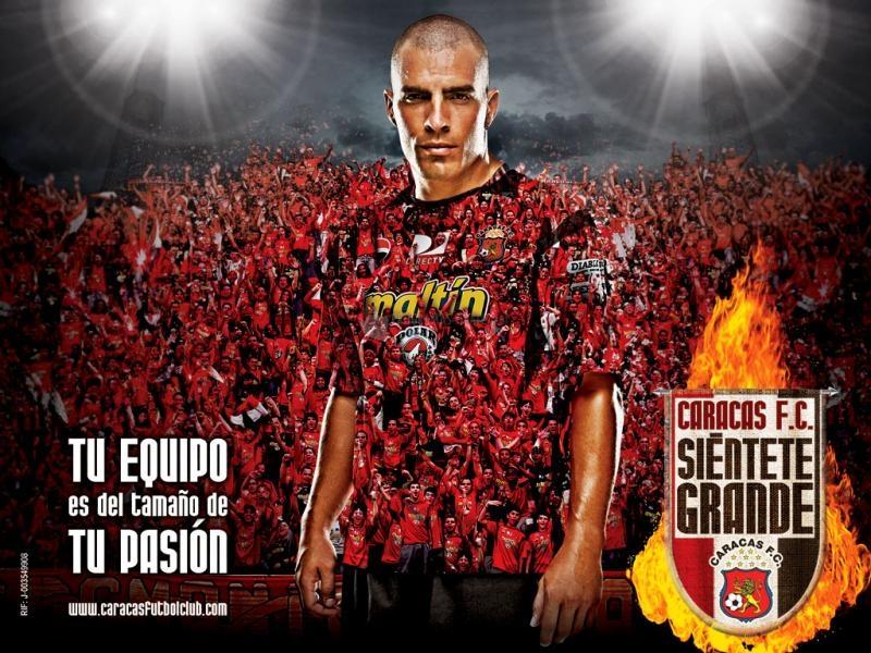 Pantallazo Caracas FC: Tu equipo