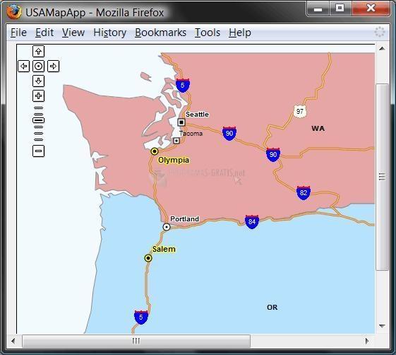 Pantallazo Asp Map